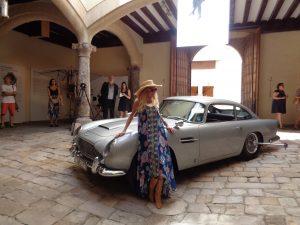 Aston Martin DB5 + Britt Ekland