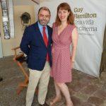 Cosme Bonet, Conseller d'Economia i Hisenda, i Paula Ginard, Directora de la Fundació Mallorca Turisme