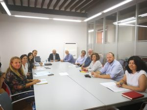 "The Insular Filming Commission (CIR) meets to coordinate and support the filming of the second season of ""La caza"""