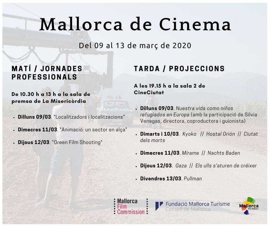 La Mallorca Film Commission completa la seva setmana «Mallorca de cinema» amb jornades professionals al matí